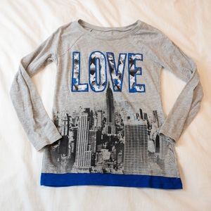 Justice LOVE Cityscape Graphic Longsleeve - 10
